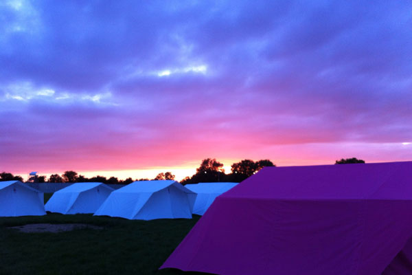 Five reasons to love camping at Porthleven Food Festival