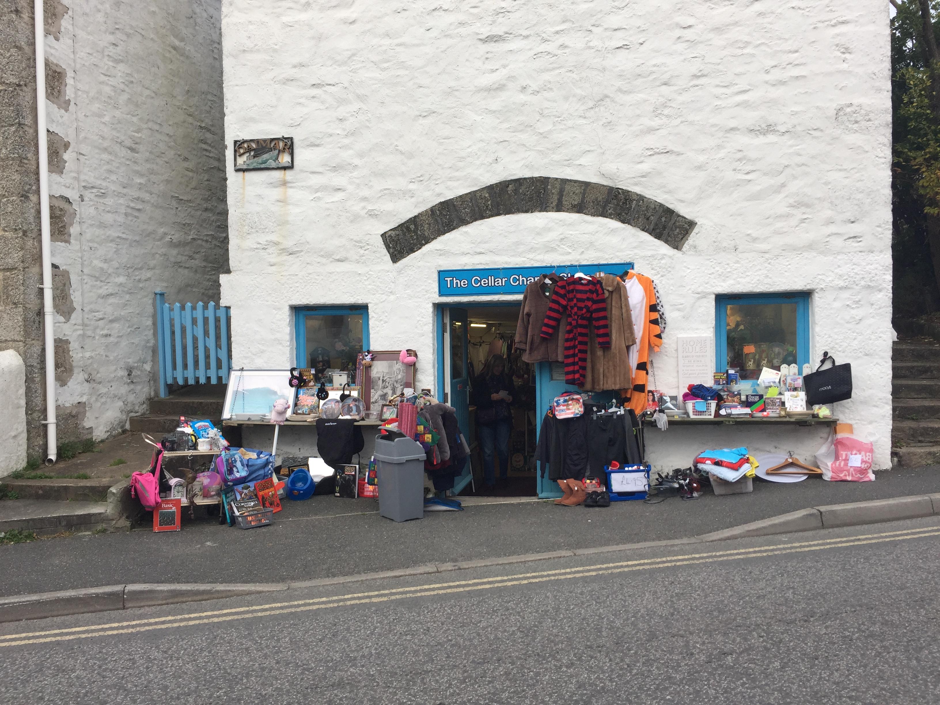 Cellar Charity Shop