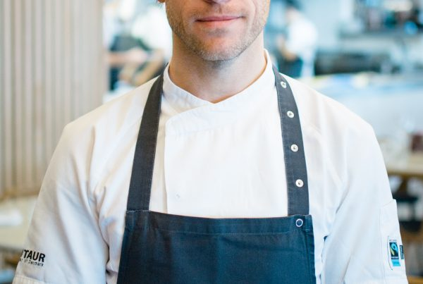 Adam Banks from Fifteen Cornwall will cook at Porthleven Food Festival 2019
