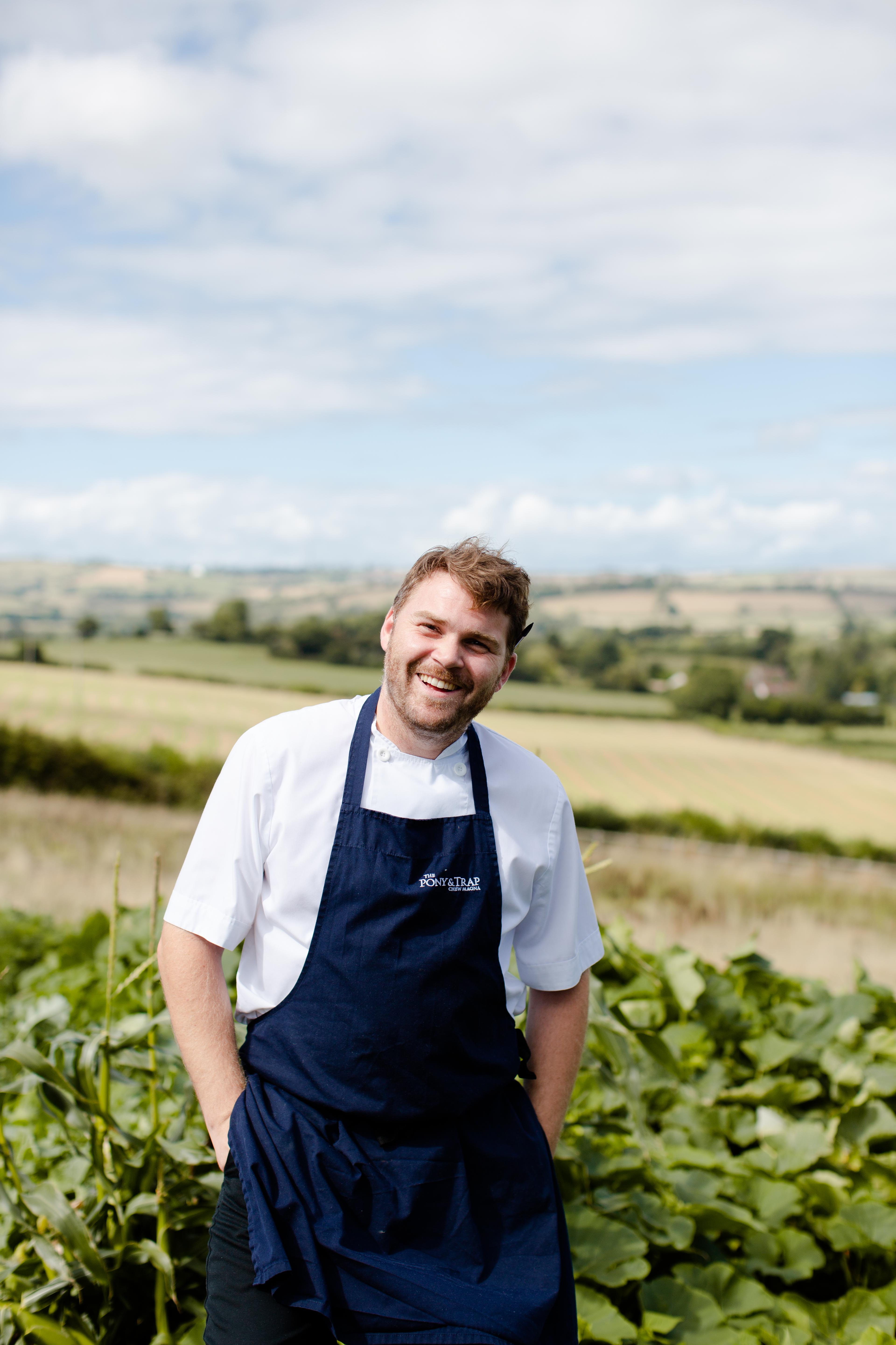 Chef Josh Eggleton will cook at Porthleven Food Festive 2019