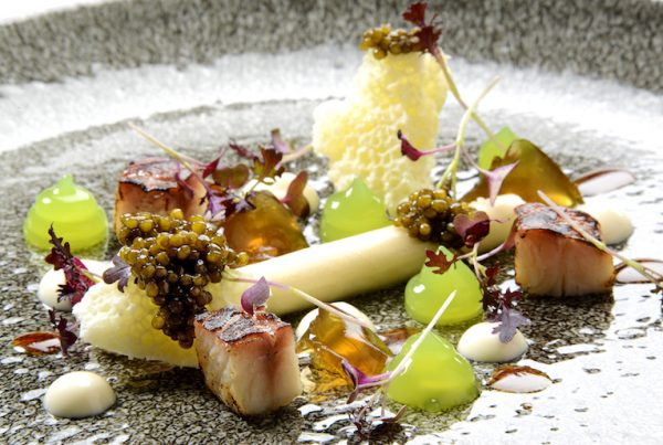 Michael Wignall Eel Mousse