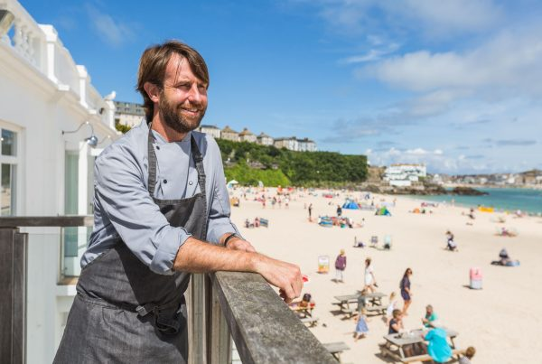 Chef Mick Smith will cook at Porthleven Food Festival 2019