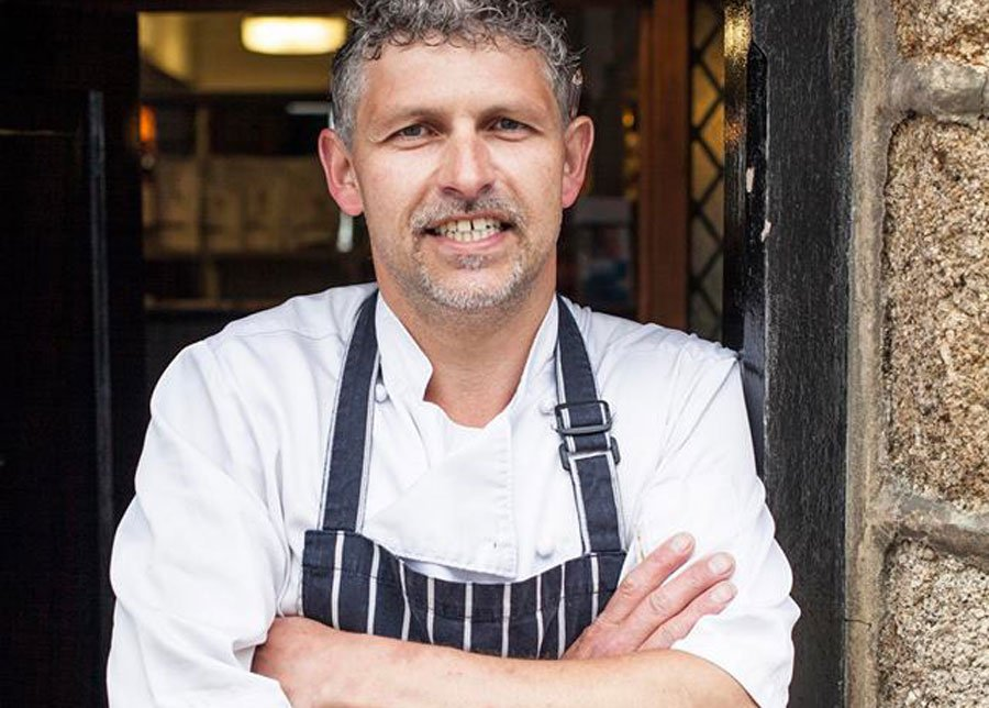 Chef Ben Tunnicliffe will cook at Porthleven Food Festival 2019