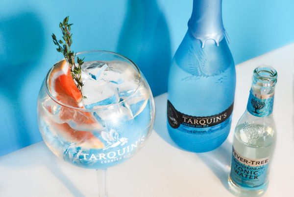 Tarquins Perfect G&T Workshop at Porthleven Food Festival