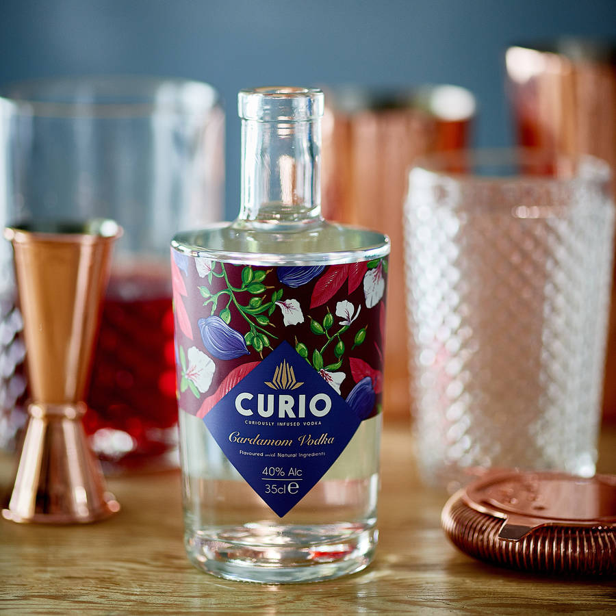 Curio Vodka Masterclass at Porthleven Food Festival