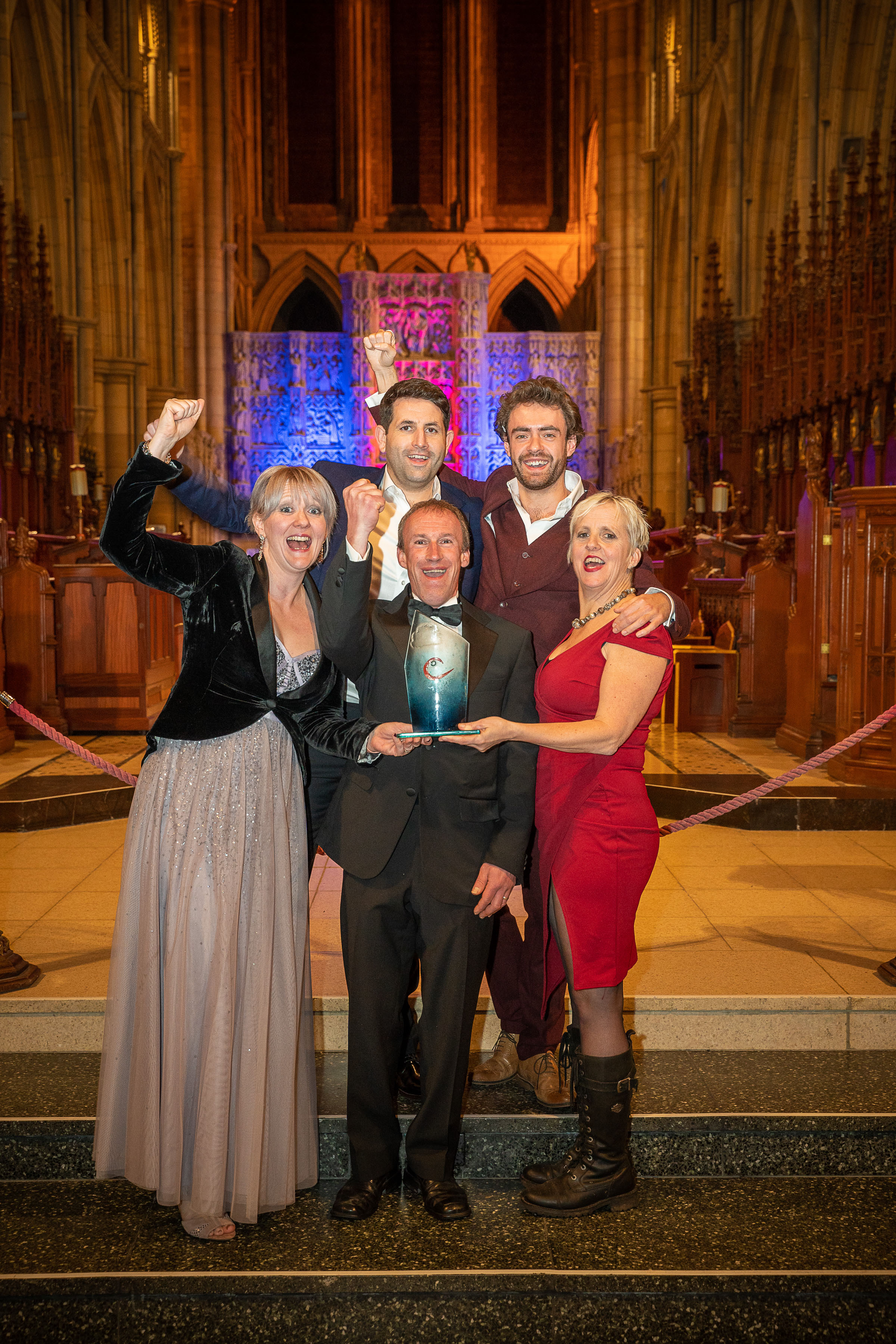 It's GOLD at the Cornwall Tourism Awards