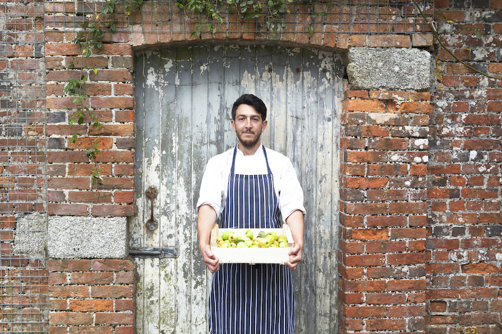 Chef Jeff Robinson will appear in the chef's Theatre at Porthleven Food Festival